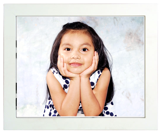 portrait with black picture frame price