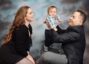 Professional portrait studio for children portraits