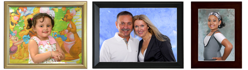 studio photo framing sample